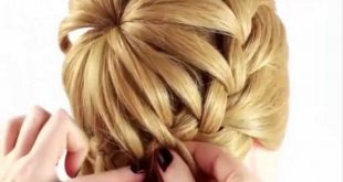 Learn This Beautiful Hairstyle For Your Little Girl Updo Hairstyles