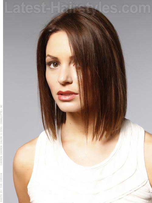 Short Brown Hair: The Best Models New Hairstyle Trends