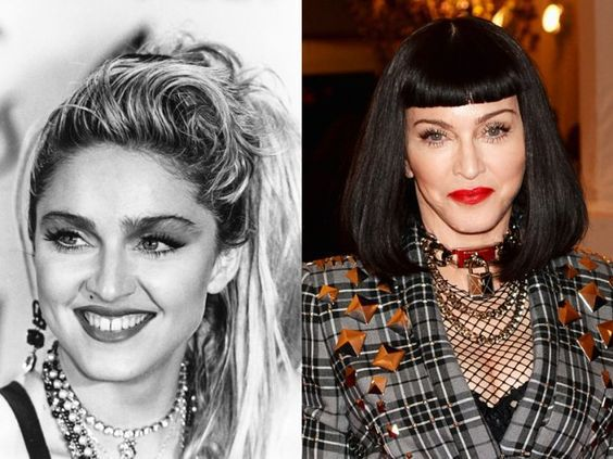 Evolution of the Hair of the Stars: Photos to See Absolutely New Hairstyle Trends