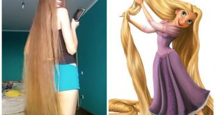 Rapunzel Exists in Real Life: It's The Young Russian Dashik Gubanova Hair Styling Tips