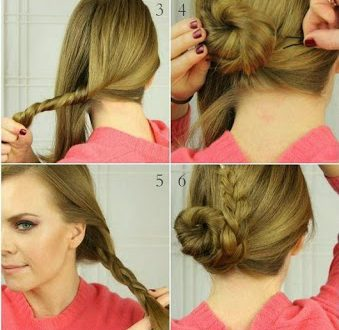 Easy hairstyle for every day - 3 styles of hairstyles for ...