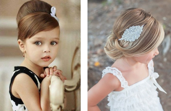 20 Beautiful Wedding Hairstyle for Little Girls