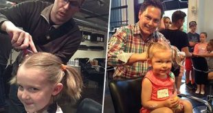 A Salon For Dads To Learn To Style Their Little Girls Hair Styling Tips