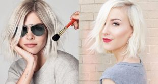 Most Popular Square Blondes: Top10 Impressive Square Cups New Hairstyle Trends