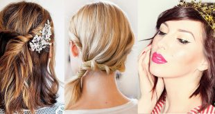 The Best Hairstyles Party To Celebrate Christmas - 20 Awesome Models Hairstyles For Evening