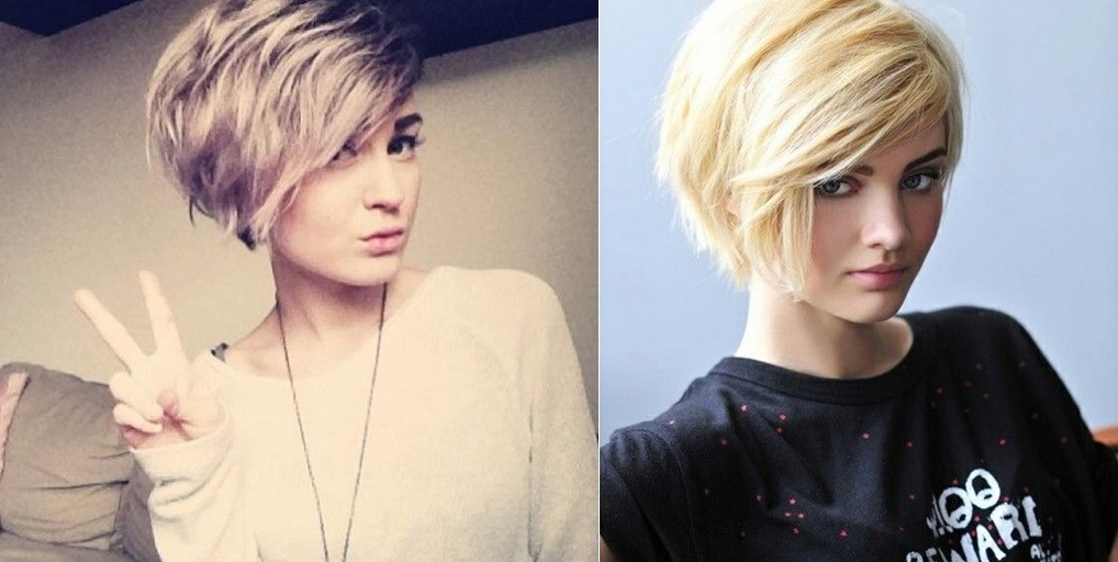 Short cuts: 15 super stylish models of women's haircuts Hair Cut Trends