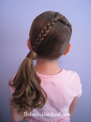 Hairdressing Girls: The best models Hairstyles For Little Girls
