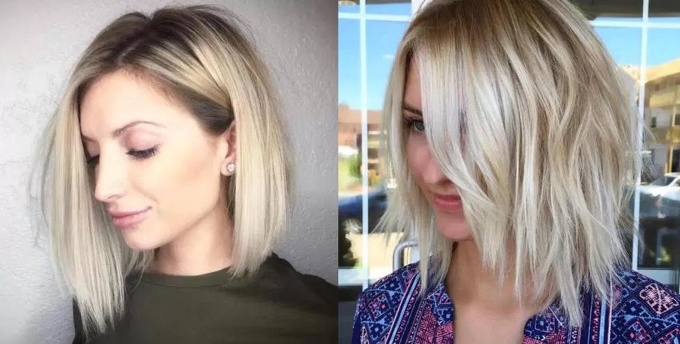 50 Best Square Sections Gradients for Spring New Hair Cut Trends