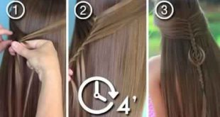 A beautiful easy braid to make for your little girl Hairstyles with Braids