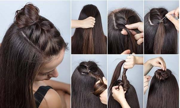5 basic tutorials for medium length hair Hairdressing Medium Hairstyles