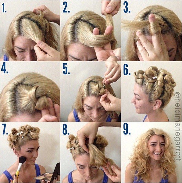 Here are the 6 Easy Techniques to Curl Your Hair Without Iron or Heat Hair Styling Tips