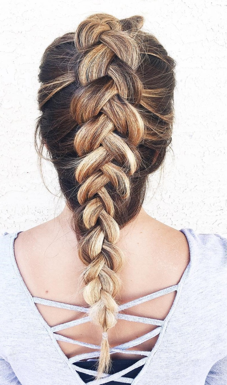 30 Beautiful braids to stitch Hairdressing