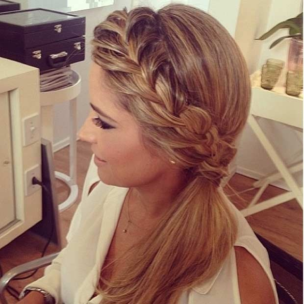 25 beautiful ponytails for your parties Fast Simple Hairstyles