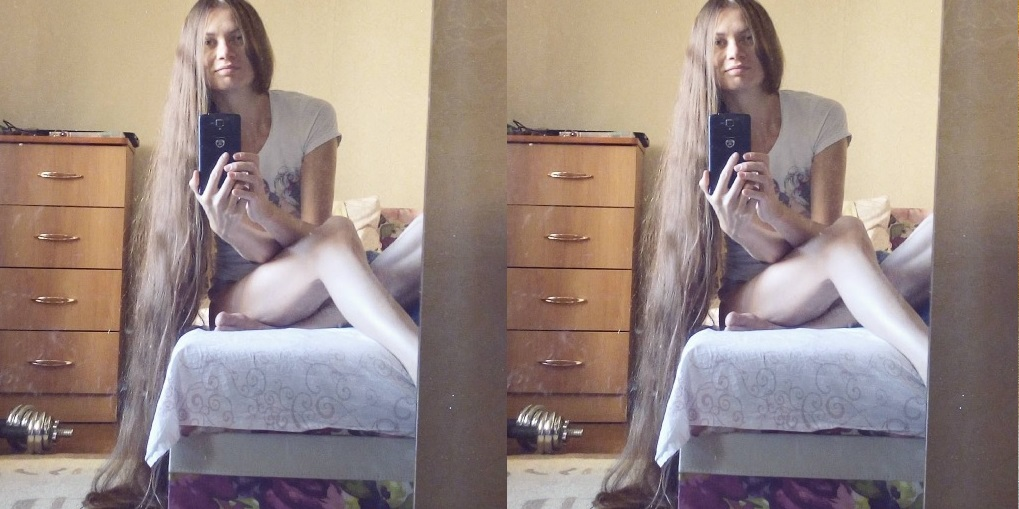 This Young Woman is Considered The Rapunzel Princess of Real Life! Hair Styling Tips