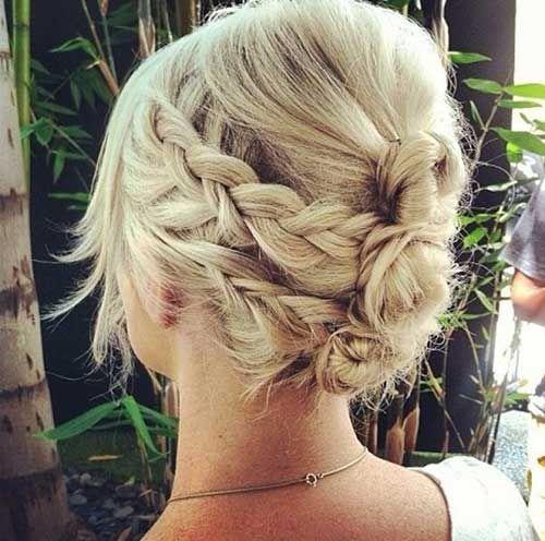 23 Beautiful Braids On Short Hair Hairstyles with Braids
