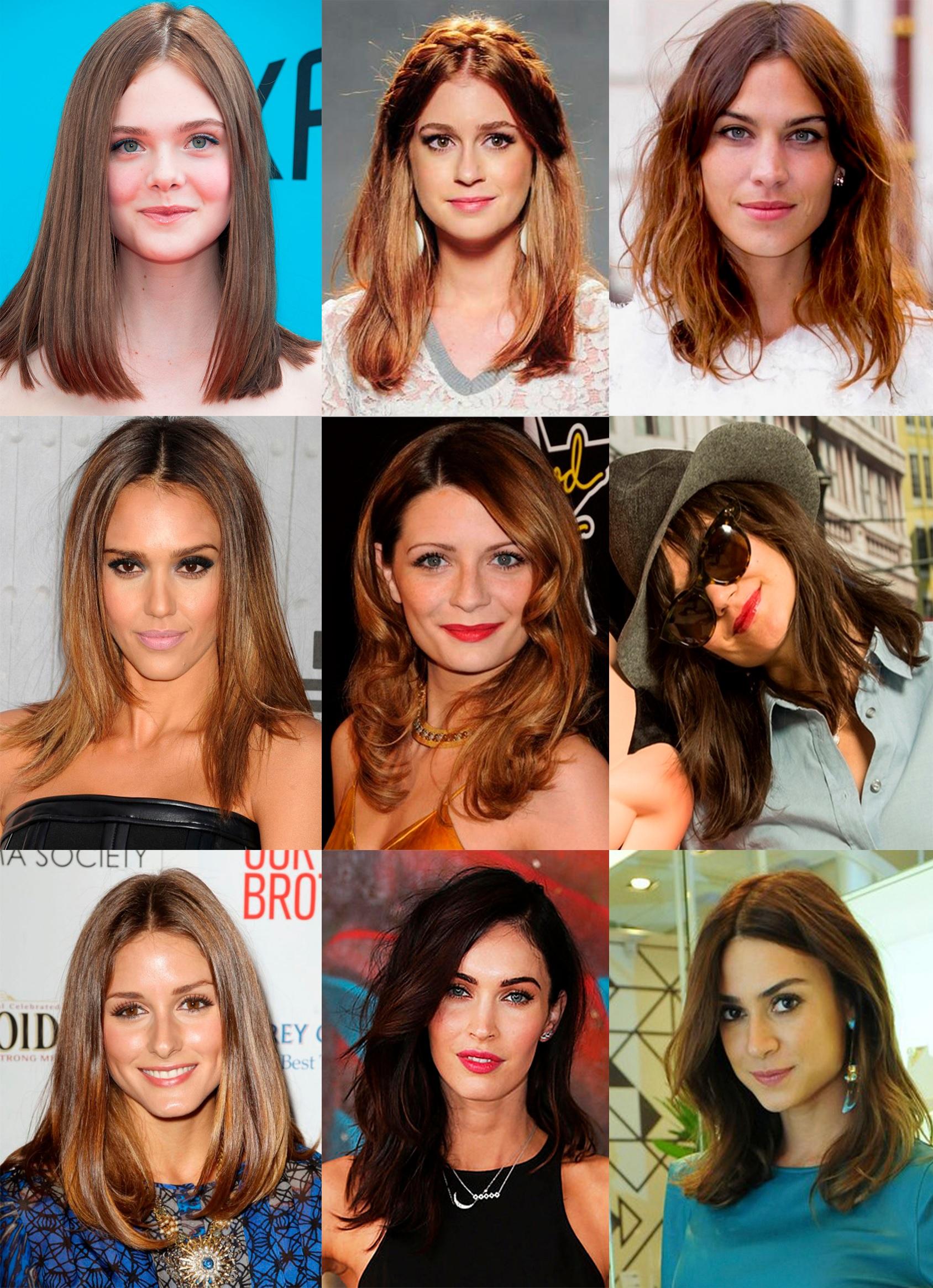 Color Ideas for Mid-Length Hair: Best Models Hair Color Ideas