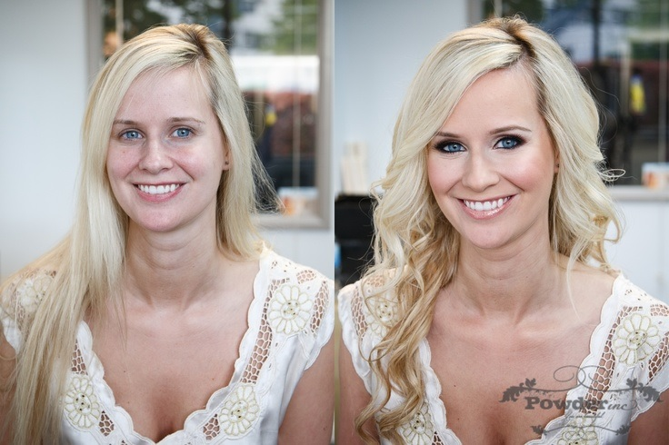 20 Pictures Of Brides Before And After Makeup And Hairstyle Wedding