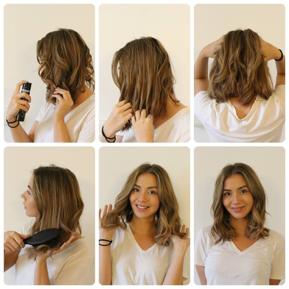 How to Make Beautiful Curls on Short Hair: A Summer Look! New Hairstyle Trends