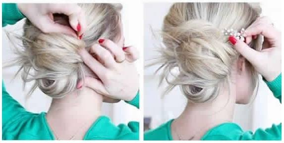 20 Beautiful Chignons To Celebrate Christmas Hairdressing