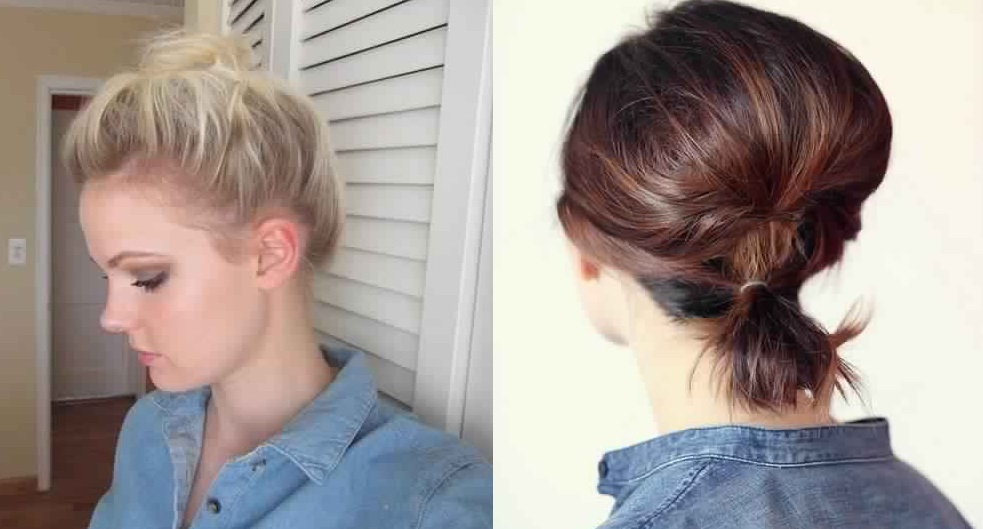 30 Beautiful Practical Hairstyles For Short Hair Fast Simple Hairstyles