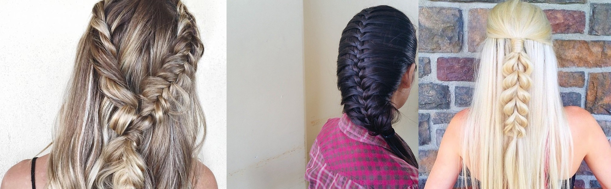15 pretty hairstyles daily to do quickly Hairdressing