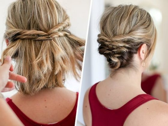 beautiful ideas of simple and fast hairstyles for short hair Fast Simple Hairstyles