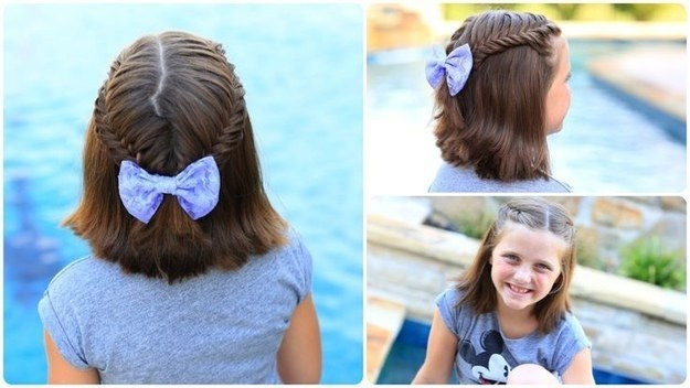 15 beautiful hairstyles for little girls Fast Simple Hairstyles