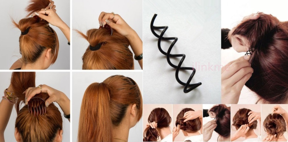 Here are the 10 Essential Accessories for Making Simple and Fast Hairstyles That Every Woman Should Have! Hair Styling Tips