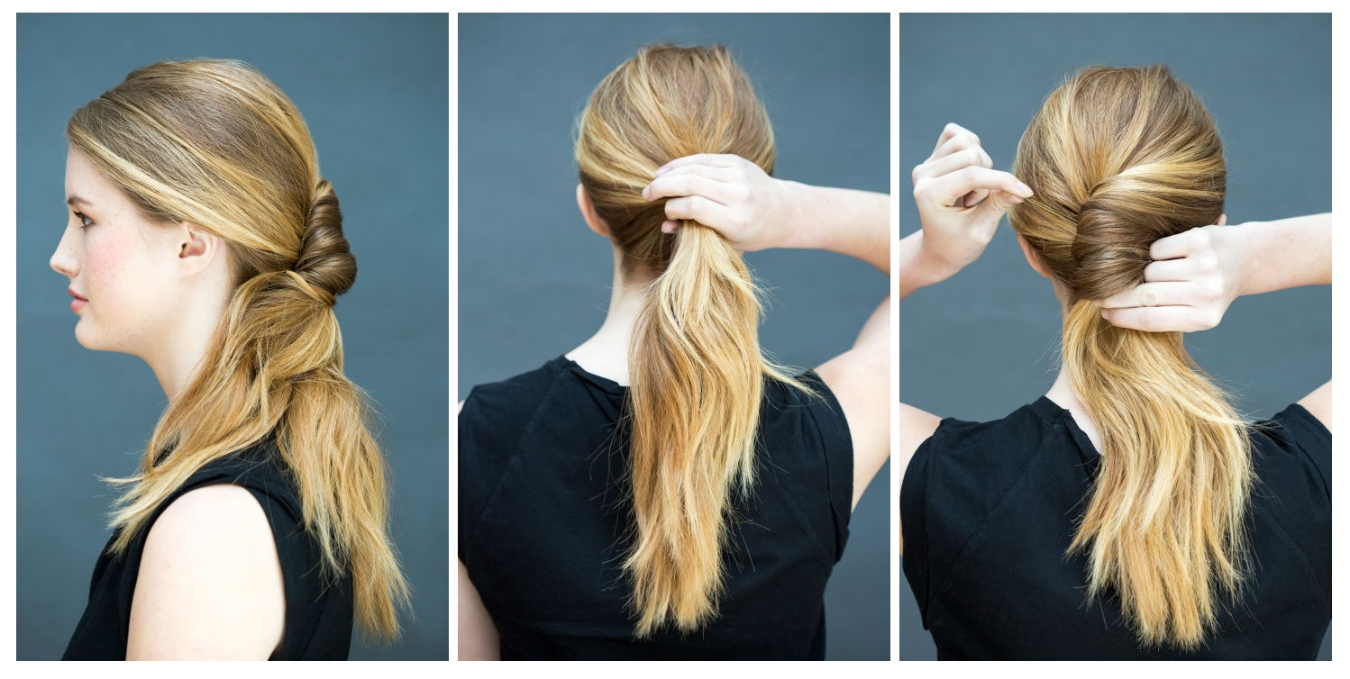 10 Hairstyles That You Can Only Do In 10 Seconds. Easy Hairstyles