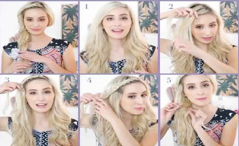 hairstyle woman braid: 10 inspiring patterns trend this summer Hairdressing