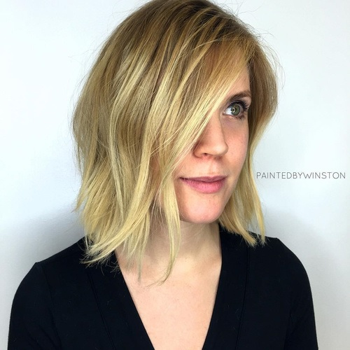 80 Medium-length Hair Styles and Fashion Hair Cut Trends