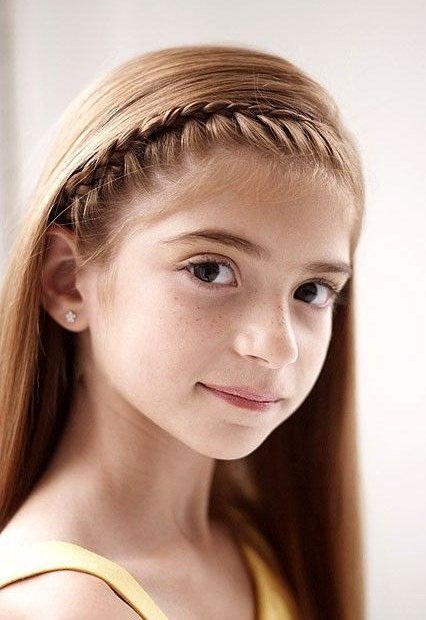 Beautiful braids for girls on the occasion of the return New Hairstyle Trends