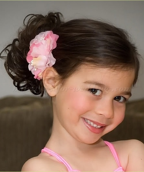 beautiful hairstyles little girl wedding summer New Hairdressing
