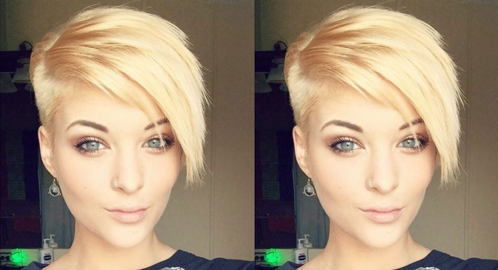 Beautiful colors On short hair!