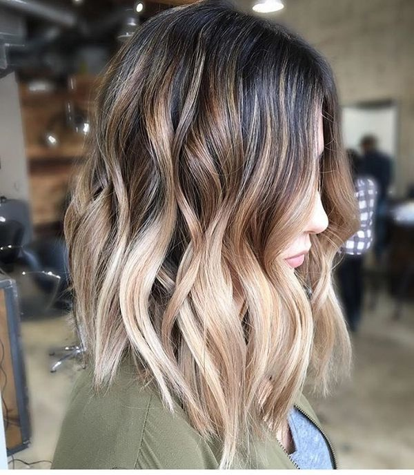 Shaded Hair Medium Hair: The Most Beautiful Models Hair Color Ideas
