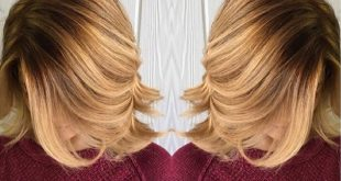 Ombre Hair And Dark Hair Trend to Wear in New Hair Color Ideas