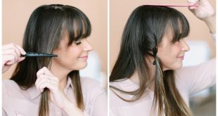 Learn To Reshape Your Bangs Alone Hair Cut Trends