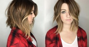 Mid-Long Hair - Spring Trends New Hairdressing Medium Hairstyles