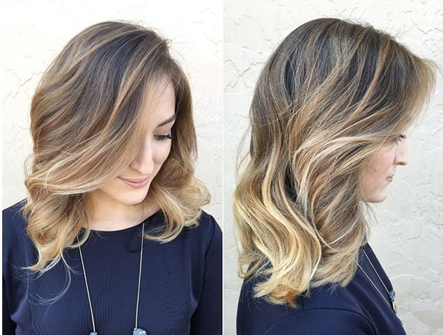 These LOB Hairstyles: Long Square Are Stunning, Come See Hair Color Ideas