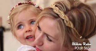 Mother and daughter Hairstyle Series 2 Hairstyles For Little Girls