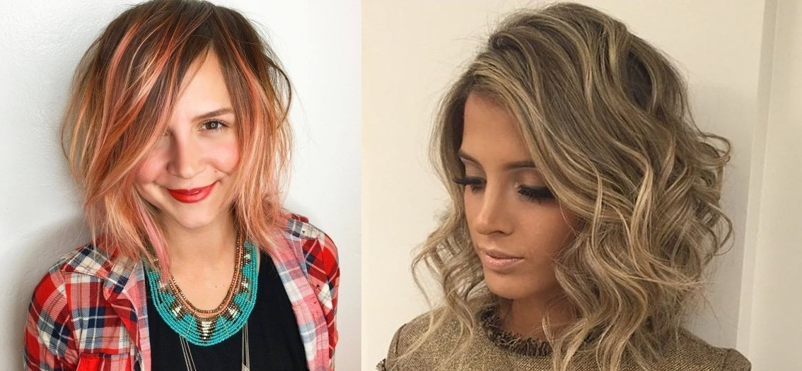 Beautiful long and medium-long hair colors trend New