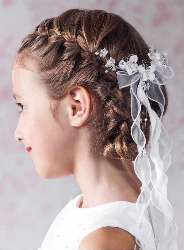 The most beautiful hairstyles evenings for little girl Fast Simple Hairstyles