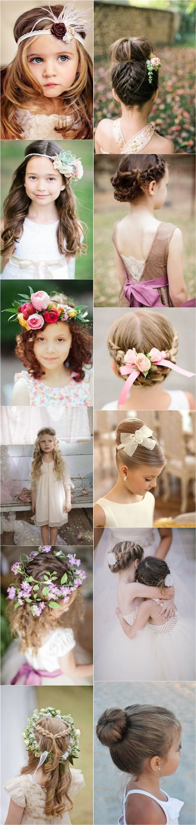 45 Beautiful Christmas Hairstyles For Your Little Girl Hairstyles For Little Girls