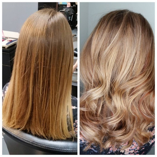 The latest trends of swept hair, shaded hair to stitch this summer Hair Color Ideas