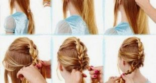 Simple and fast hairdressing for school Fast Simple Hairstyles