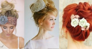 The Top Bun: A Series of 30 Top Bunny Styles Spring New New Hairstyle Trends