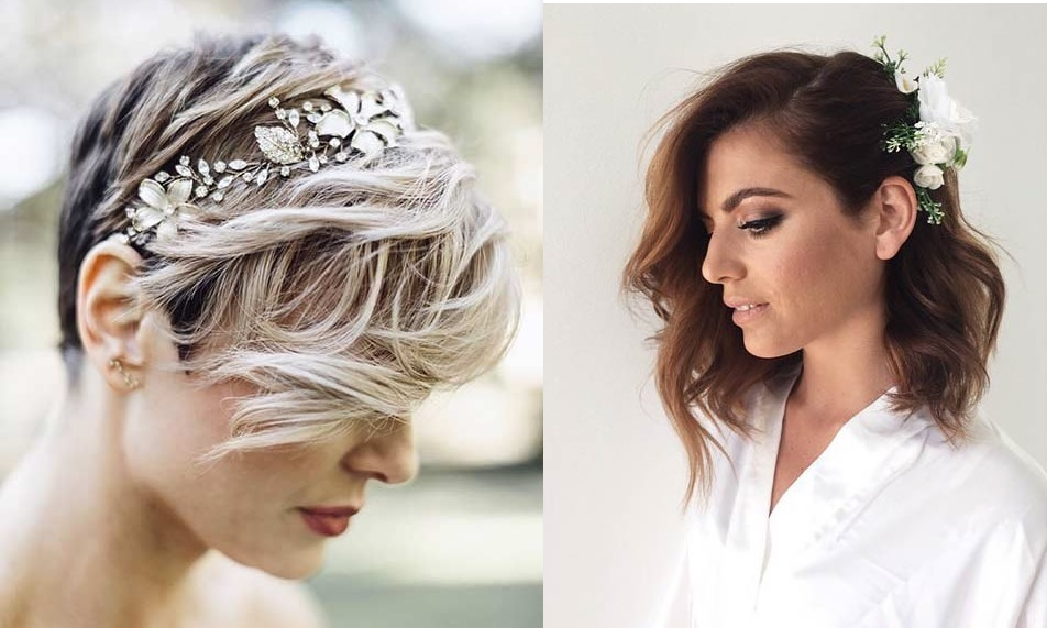 30 wedding hair styles for short hair Wedding Hairstyle