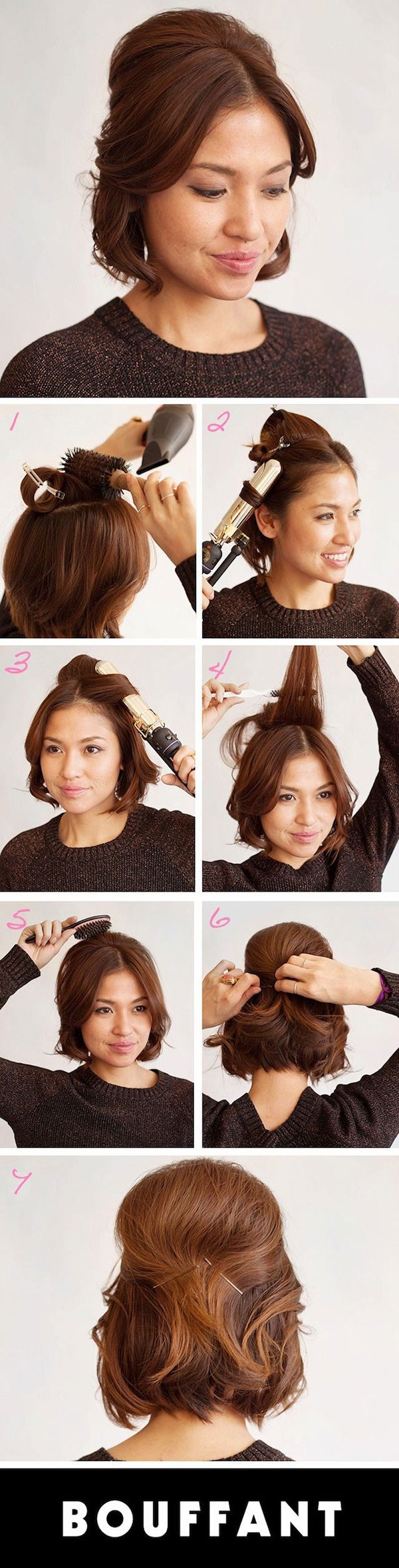 30 5 Minute Hairstyles For Your Short Hair New Hairstyle Trends