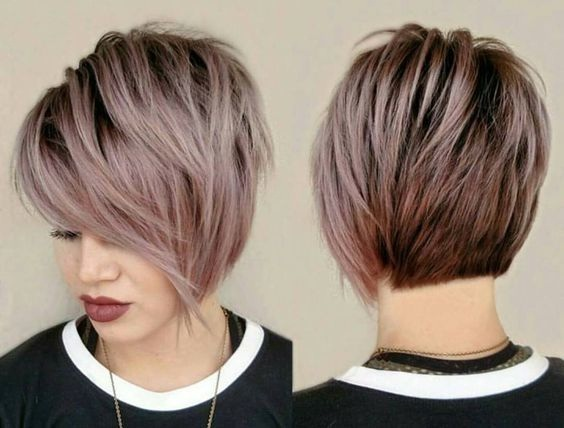 degraded cuts: the best trends and colors Hair Color Ideas