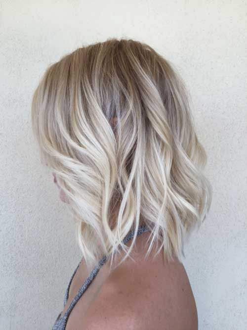 Blondes Square Cups: Extreme Beauty Proof in Photos Hair Cut Trends